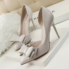 NEW Women's Pumps Wedding Slim High Heel Pointed Toe Stiletto Party Heels Shoes