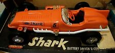 "REMCO 1961 SHARK U-CONTROL 19"" TETHER CAR RACER ... #610 ... BATTERY POWERED!"
