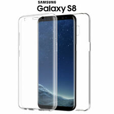 Funda Proteccion Total 360º Trasparente Gel TPU Hibrida  para Samsung Galaxy S8