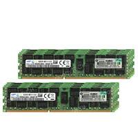 Samsung 128GB 8x16GB 2Rx4 PC3-14900R DDR3-1866 240pin Ecc Server Reg Memory
