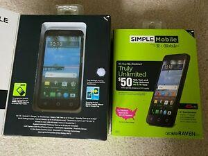 Alcatel RAVEN LTE Simple Mobile Smart Phone