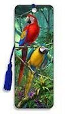 Artgame - Parrots - 3D Bookmark