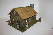 Old West, Blockhaus, 1706, zu 7cm Figuren, GMKT World of Diorama