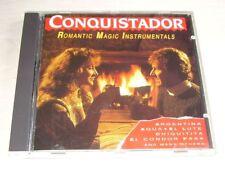 CONQUISTADOR Romantic Magic Instrumentals CD 1989 CNR Piet Souer