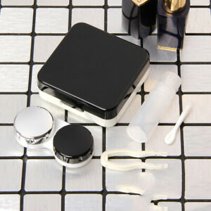 Contact Lens Case Travel Glasses Lenses Box For Unisex Eyes Care Kit Holder [US]