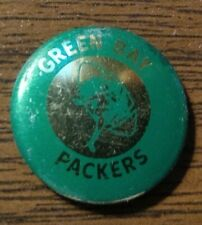 1960-70's Vintage Green Bay Packers Pinback Pin Button  7/8""