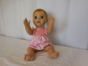 Luva Bella LuvaBella Blonde Girl Interactive Baby Doll w/Outfit Moves & Talks