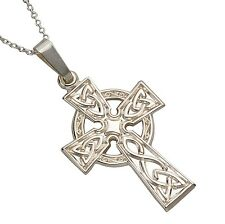 Sterling Silver Small Celtic Cross 24mm