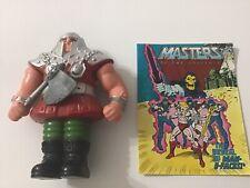MOTU, Ram Man, He-Man, complete, With Comic