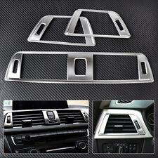 3Pcs Chrome Dashboard Air Vent Cover Trim for BMW 3 Series F30 2013 2014 2015