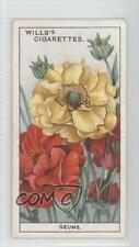 1933 Wills Garden Flowers Tobacco Base #22 Geums Non-Sports Card 0a1