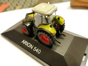 CLASS ARION 540 SCHUCO 1/87 TRACTEUR AGRICOLE SIKU KIBRI