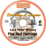 Five Red Herrings Lord Peter Wimsey -Dorothy L. Sayers MP3 Audio Book MP3 CD