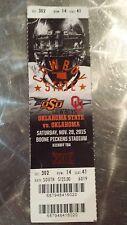 OU Oklahoma Sooners vs OSU Collectible Ticket Stub - Big 12 Champions