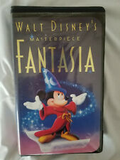 Walt Disney's Masterpiece Fantasia movie (VHS, 1991) black diamond classic