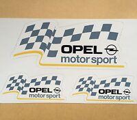 STICKER OPEL MOTOR SPORT RACING RACE AUFKLEBER PEGATINA VINILO ADESIVI DECAL