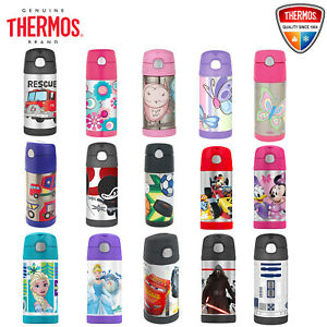 THERMOS Funtainer Kid Stainless Vacuum Flask Insulated Hydration Bottle 355ml