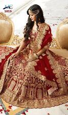 WEDDING PARTY WEAR DESIGNER LEHENGA INDIAN PAKISTANI BRIDAL LEHENGA CHOLI