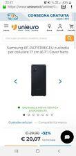 Silicon Cover Originale Samsung Galaxy A71 (SM-A715) colore Nero black silicone