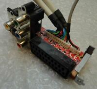 Genuine Medion MS-4073 Ver:1.0 S-Video Scart Video Adapter Board