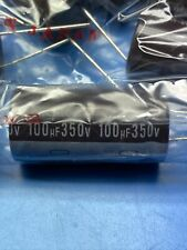 Qty 50, 100uf 350v Nichicon Electrolytic Capacitors 105c