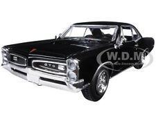 1966 PONTIAC GTO BLACK 1/25 DIECAST MODEL CAR BY NEW RAY 71853 B