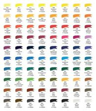 Daler Rowney artist quality water colour paint 5ml tube magenta to blue & green