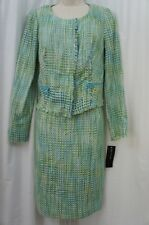 Jones New York Jacket Dress Sz 4 Jasper Blut Multi Business Evening Dinner Work