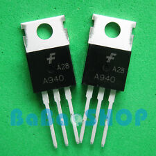 3pairs ( A940 + C2073 ) AMP Output Transistor FSC 2SA940 2SC2073 TO-220 New