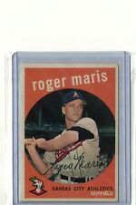 1959 TOPPS BASEBALL #202 ROGER MARIS NEAR MINT.