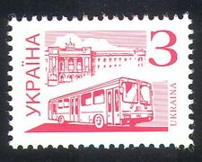 Ukraine 1995 City Bus/Public Transport/Coach/Motoring 1v (n28817)