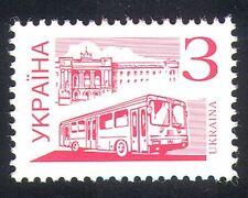 Ukraine 1995 City Bus/Public Transport/Coach/Motoring 1v (n28817)