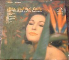 "Album By Morton Gould, ""Latin, Lush & Lovely"" on Rca Vi"