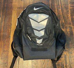 Nike Max Air Vapor Backpack Grey/Black-Metallic Silver BA5108 012 RARE