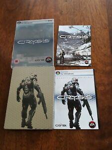 Crysis Special Edition Steelbook PC DVD  Artbook + Manual