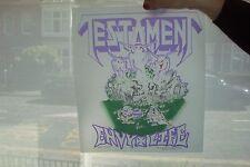 Testament Heat Transfer  Vintage T Shirt Print   #1