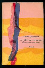 JACOMETTI ALBERTO IL FILO DI ARIANNA PARENTI 1957 LA GIRAFFA 21