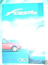 Ford Fiesta range brochure 1997 ed 2