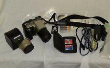 Olympus Camedia C-2500L 2.5Mp Digital Slr Camera - Black & Metallic silver