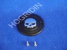 g Harley points timer cover skull sportster xl 883 1200 softail dyna fxr willie