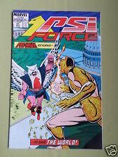 PSI-FORCE - MARVEL COMIC - VOL 1  #25 - NOV 1988