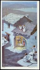 """santino-holy card""""""""ediz. NB serie 3  n.266 NATIVITA'"""