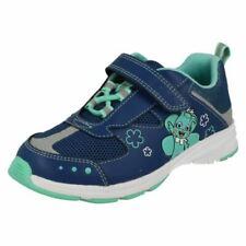Scarpe da bambina sportivi blu