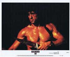 RAMBO III - 1988 - Original 11x14 Lobby #2 - SYLVESTER STALLONE without shirt!!