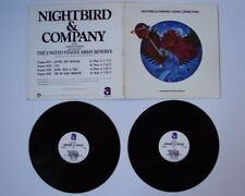 NIGHTBIRD & COMPANY 1977 2 LP Radio Show ELO STYX BLOOD SWEAT & TEARS U.S ARMY