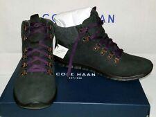 Cole Haan ZEROGRAND Waterproof Hiker Women's Boot Black/Eldrbry US Size 9