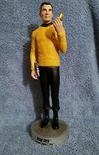 "1997 Star Trek 12"" Captain Kirk Statue  Paramount Pictures Viacom #447 of 2500"