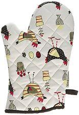 Dawn Chorus Design and Chicken Single Gauntlet Oven Glove by Cooksmart