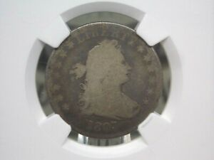 1807 Drapped Bust Quarter Dollar 25c NGC G4  East Coast Coin & Collectables, Inc