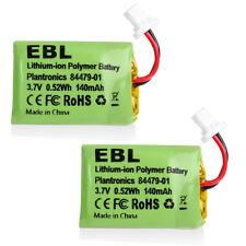 2x Replacement Battery 86180-01 For Plantronics Savi CS540 Cordless Headsets